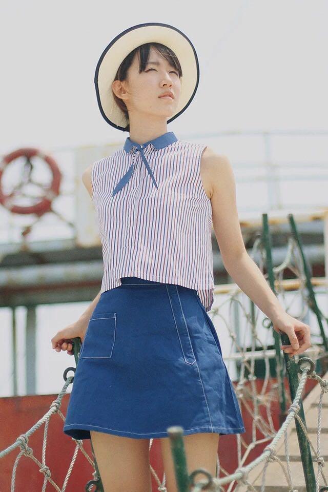 头像初中学打扮自己,学搭配穿衣?女生女生戴帽子a头像图片