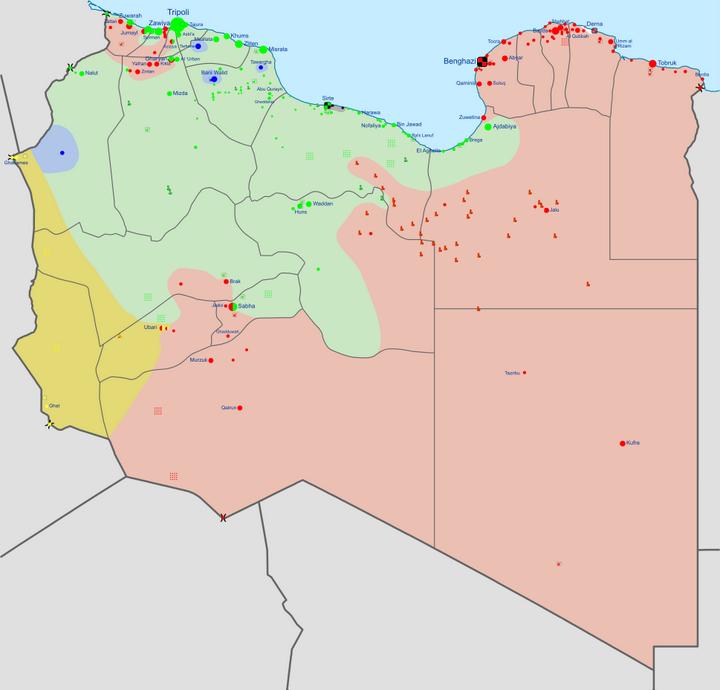 2014利比亚最新局势_利比亚最新形势图