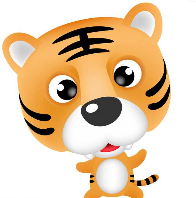 怎样用生物进化论解释老虎头上有王字?