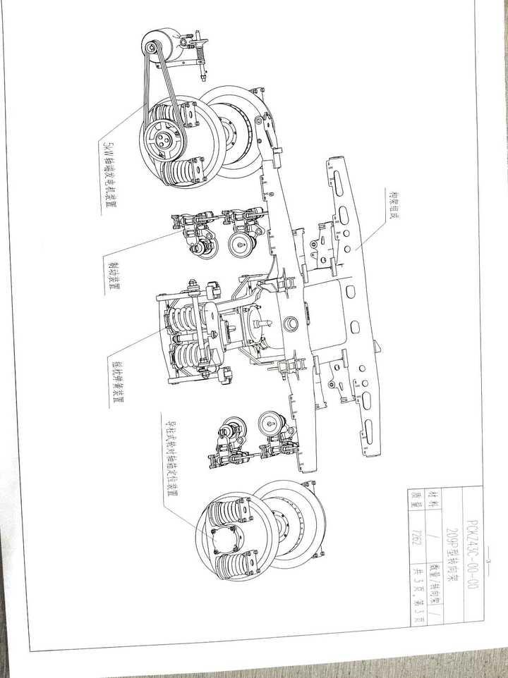 火车的转向架具体结构是怎么样的?