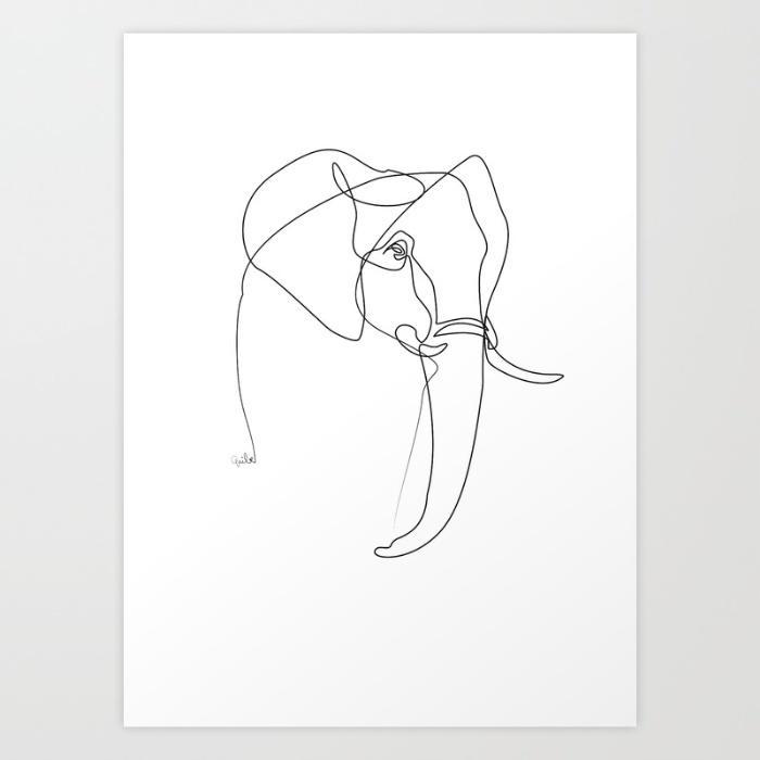 你见过哪些用极简的线条勾勒出的有意思的图画?