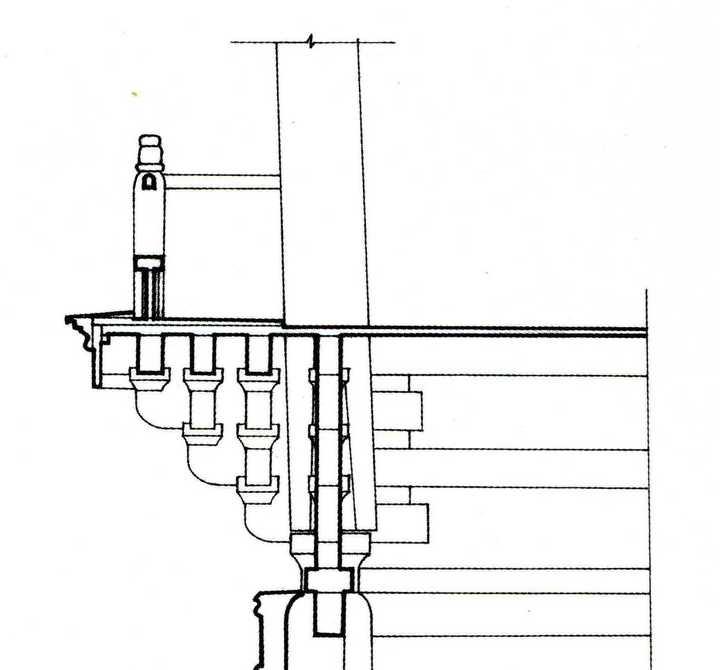 观音阁分层结构示意图