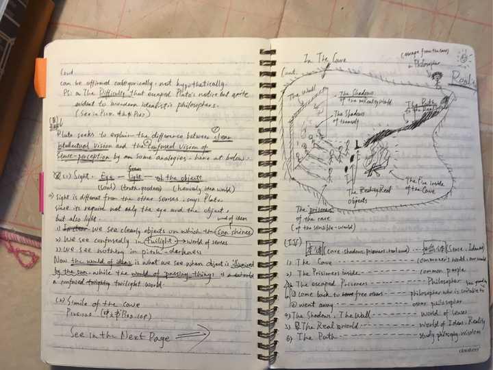 如何阅读一本书_大家上图来晒晒你的读书笔记,学习下不同的笔记模板?