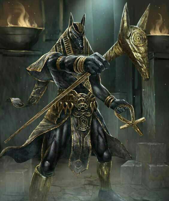 他同时也被看作是死者的守护者.