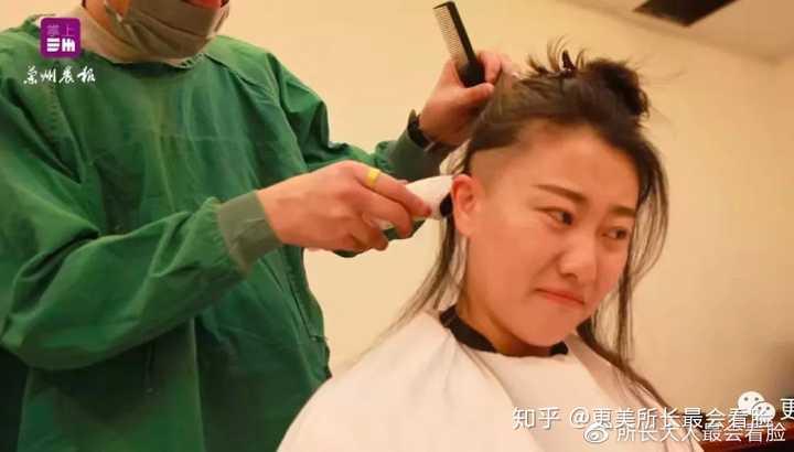 如何评价甘肃省妇幼保健院为援鄂队伍护士集体剃光头一事?图片