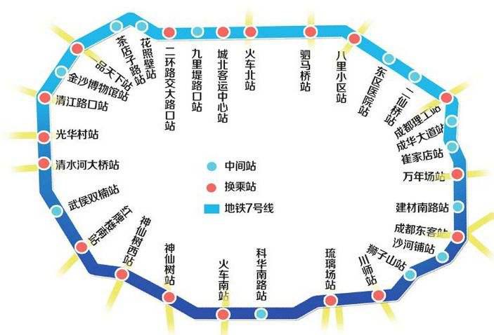 成都地铁1号线三期南段工程开工预计2018年开通试运营