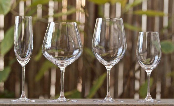 红酒杯的分类,作用及搭配?图片