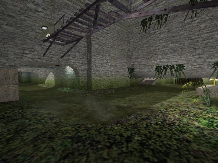 de_aztec的雨林遗迹风格与标志性地图元素吊桥,运河 这些地图问世时图片
