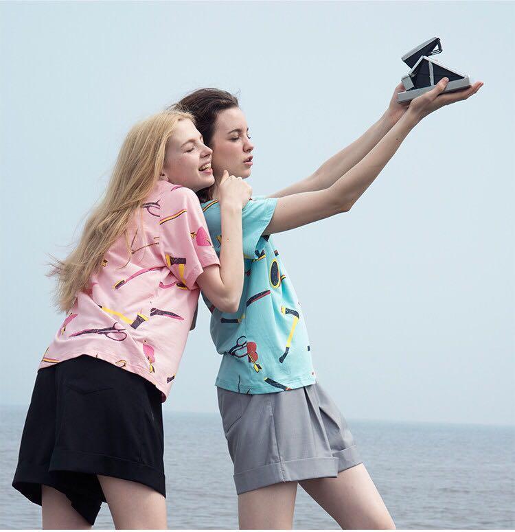 头像背影学打扮自己,学搭配穿衣?qq女生初中女生在海边图片