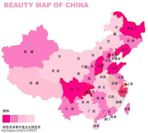 中国哪里美女多? 知乎