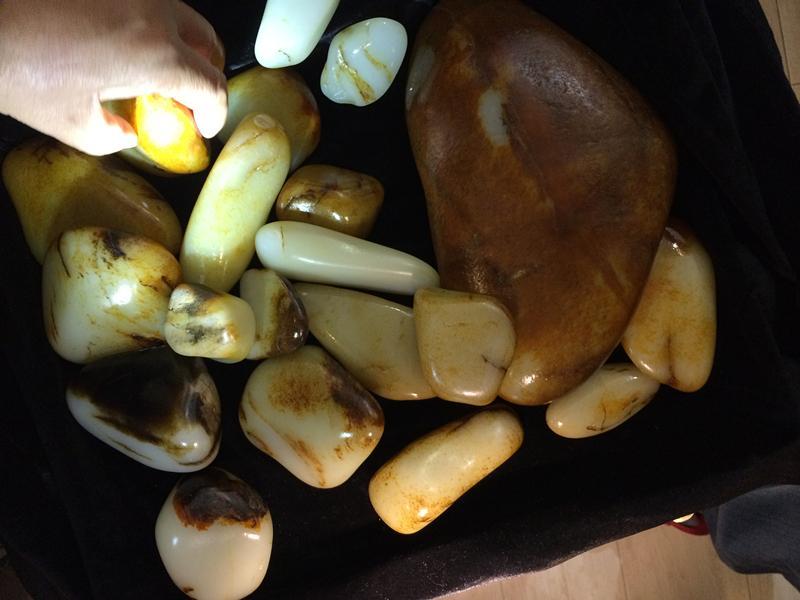 在淘宝淘到真正的a灯谜灯谜原石或者大会散锦峰玉石美食城水晶图片