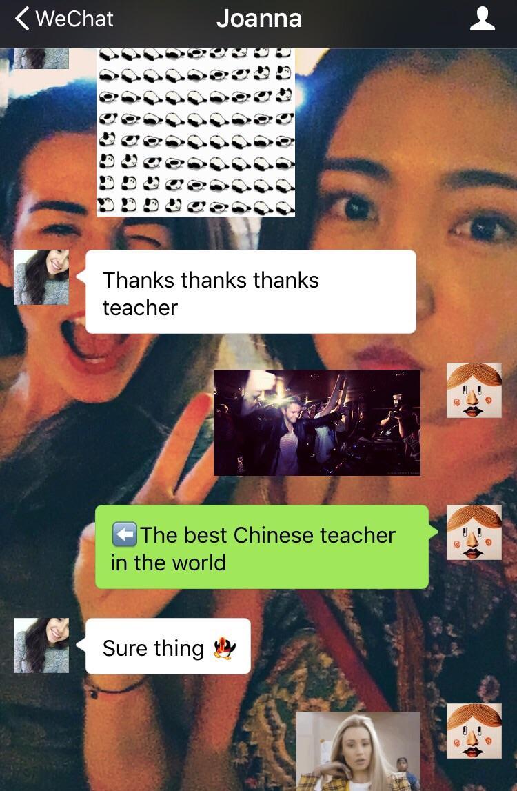 外国人在线聊天用表情表情(图片)?搞笑图片逃荒的图片