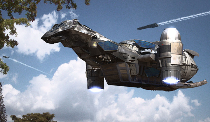 太空飞船的科幻电影_科幻作品中有哪些漂亮的太空飞船?