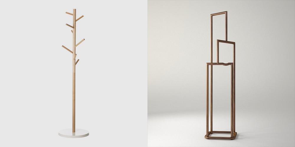 传统形意的现代diy衣架   木迹制品设计笔记图片