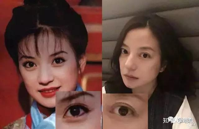 在下睫毛上的边缘化一点眼线,上眼线画的稍微下垂,这样就可以把眼睛从图片