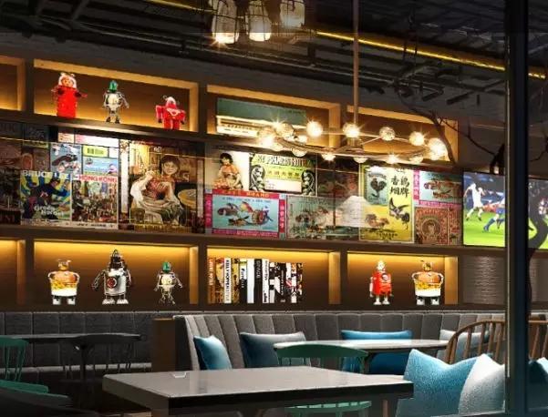 首发于听寒丶 那些值得骄傲的  其实一样 餐馆饭店的墙面装饰材料及图片