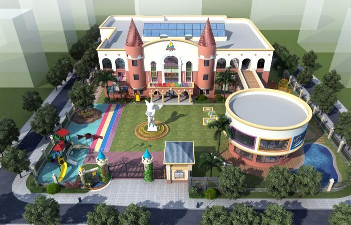 幼儿园室外设计的四个理念
