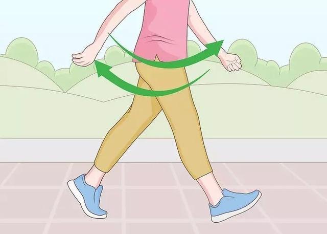 儿童走路矢量图