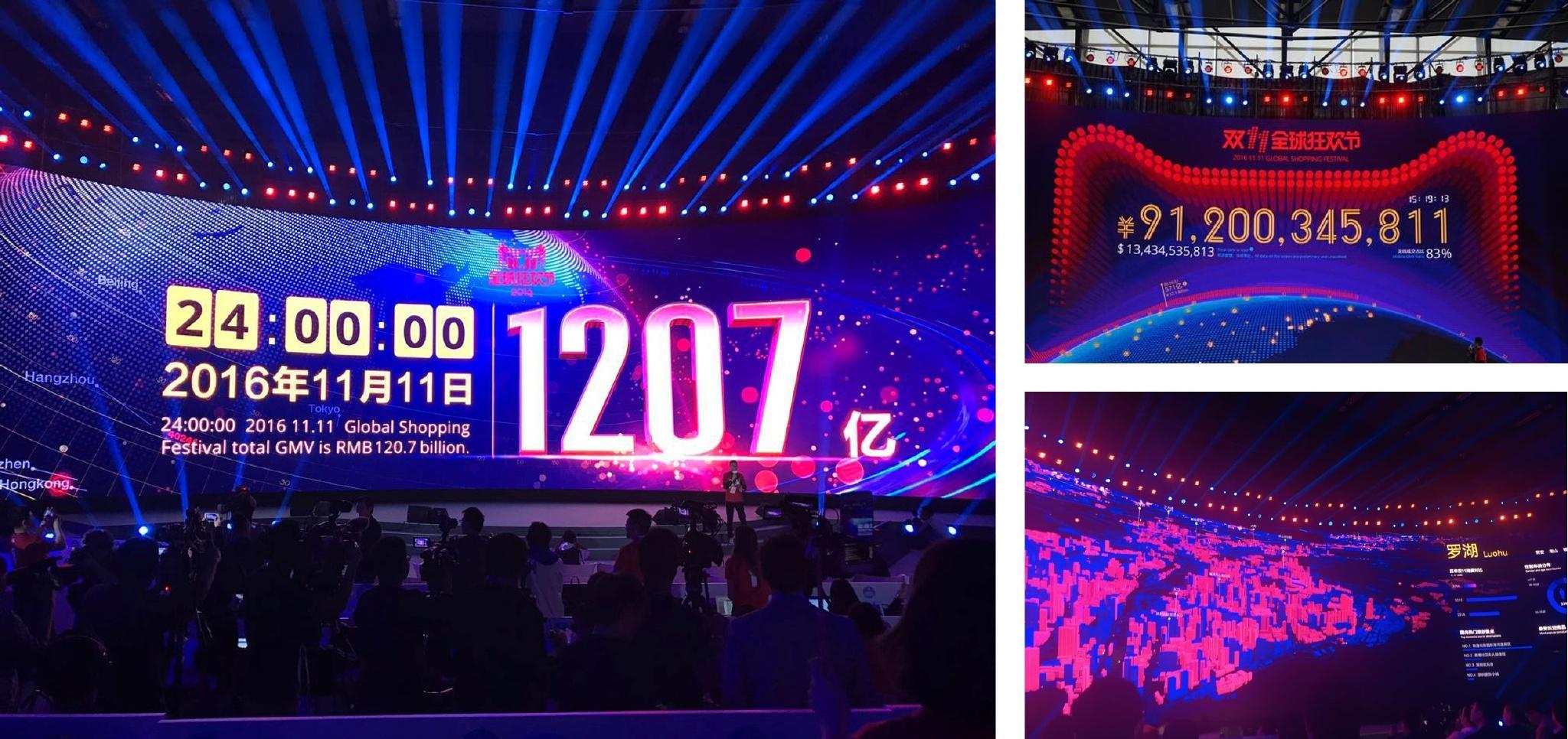 2016 双十一大屏图片