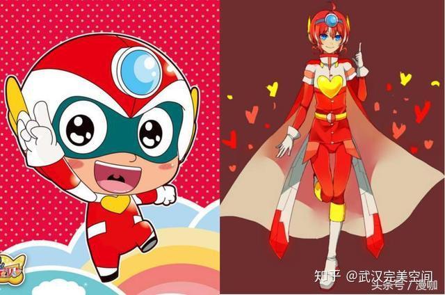 武汉完美空间:当开心宝贝都变拟人化形象后,甜心超人超漂亮!