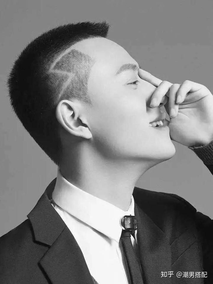 男士发型短发寸头容易打理的类型?图片
