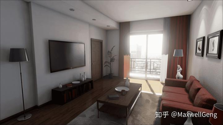 ue4室内渲染图片