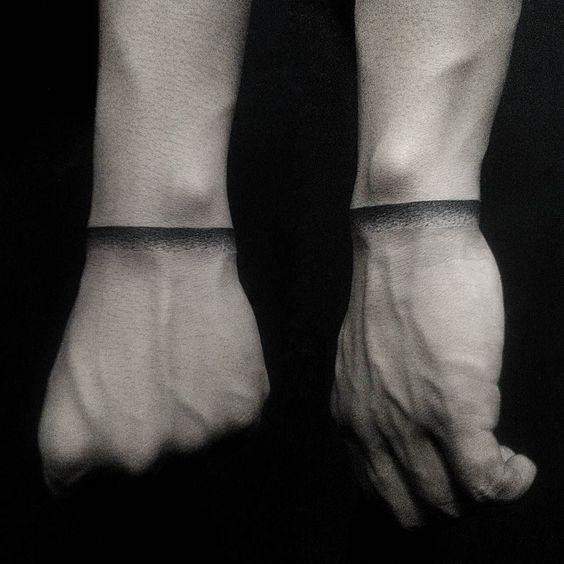 纹身师 | 臂环纹身 清新环状纹身集合