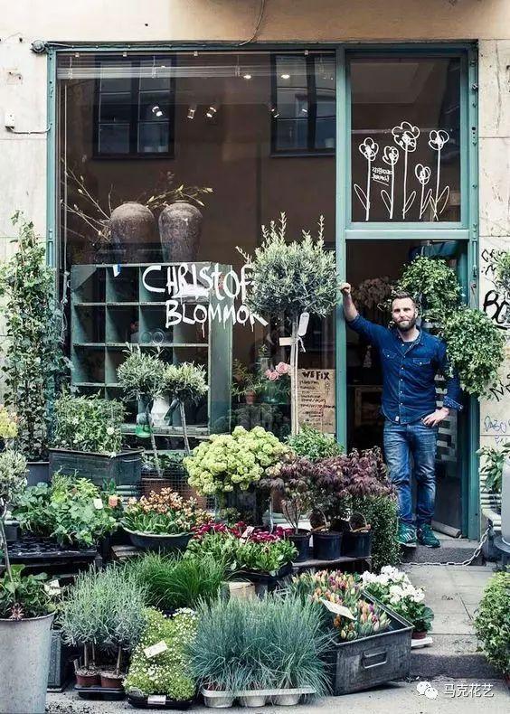 问你一句 你的花店有橱窗陈列吗? 你的花店靠什么吸引顾客?图片