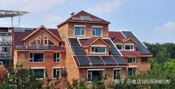 商业建筑别墅家居屋顶,把原本闲置的假日盘活利用投资开发别墅光伏龙湾盱眙还是起来屋顶图片