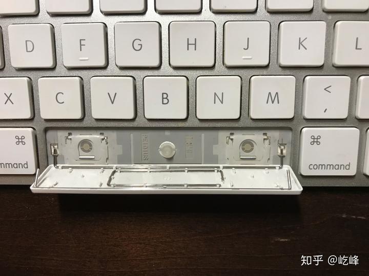 安装空格键