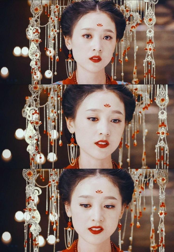 网络电影《灵魂摆渡黄泉》里的孟婆三七 电影开始没觉得特别好看图片