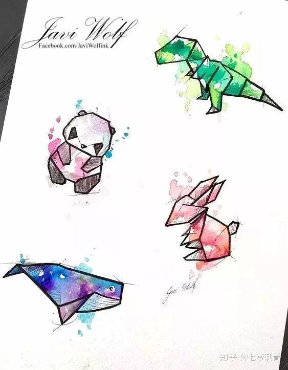 南昌纹身 | 折纸