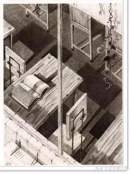 艺考狸大叔:清华美院设计素描【必看】的 7 大构图方法