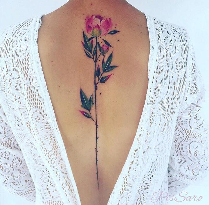 smrzhao专题纹身(第 15 期)| 脊椎纹身:不只是一条有图片