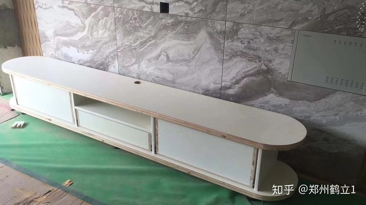 木工免漆板电视柜图片 效果图
