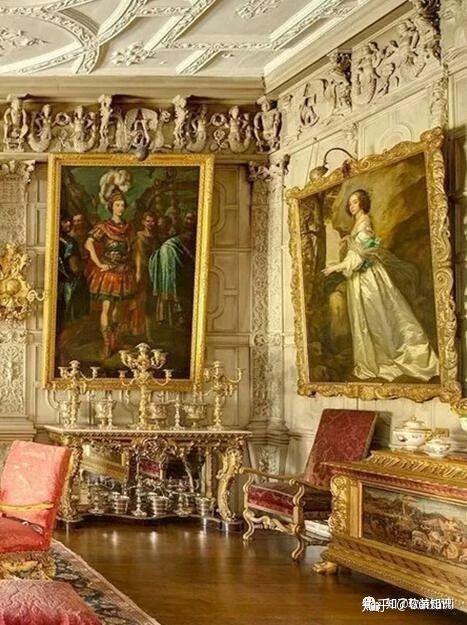 在室内设计领域也经常被用到,主流的巴洛克风格主要分为法式的巴洛克图片
