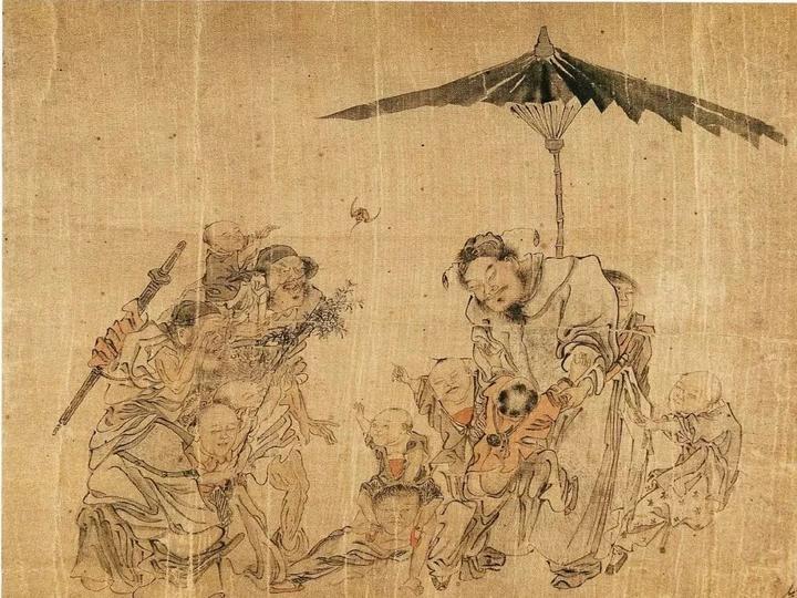 画一只正义的中国善鬼!图片