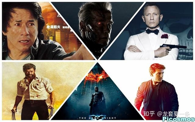 永远的007,永远的t800,永远的蝙蝠侠,永远的金刚狼,永远的伊森亨特.图片