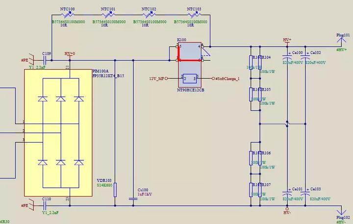 一种新型商用空调逆变器硬件电路方案的研究图片