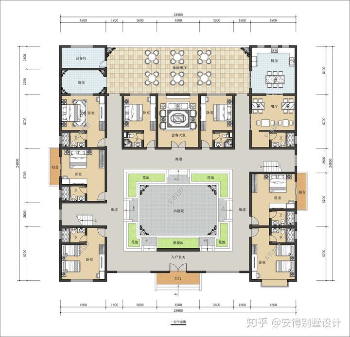 25x25m的超赞四合院,可民宿也可自主,抵过城市千万豪宅图片