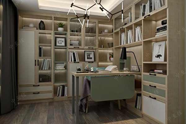 l型书柜图片
