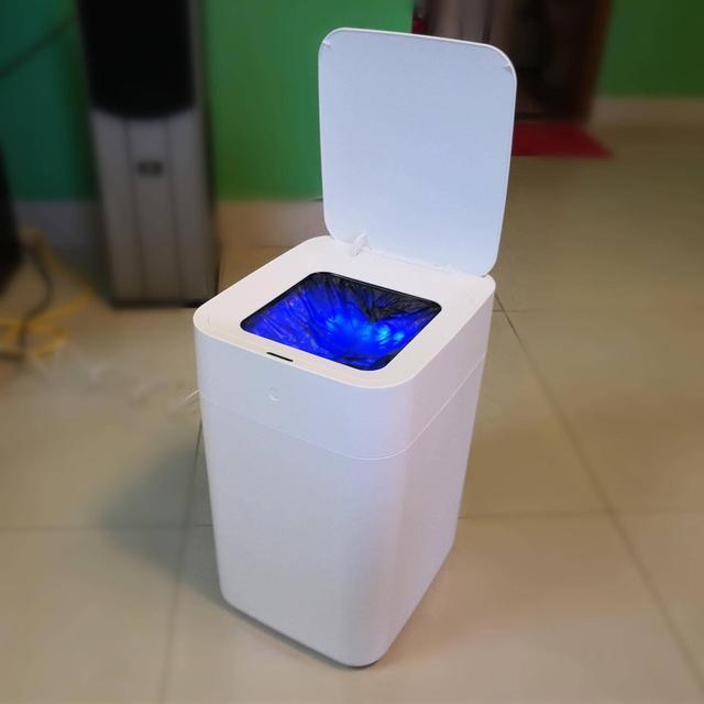 垃圾桶也有脑洞设计,拓牛智能垃圾桶自动感应开盖,自动打包换袋图片
