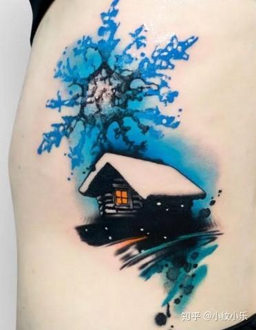 你喜欢纹比较大面积的纹身吗?图片