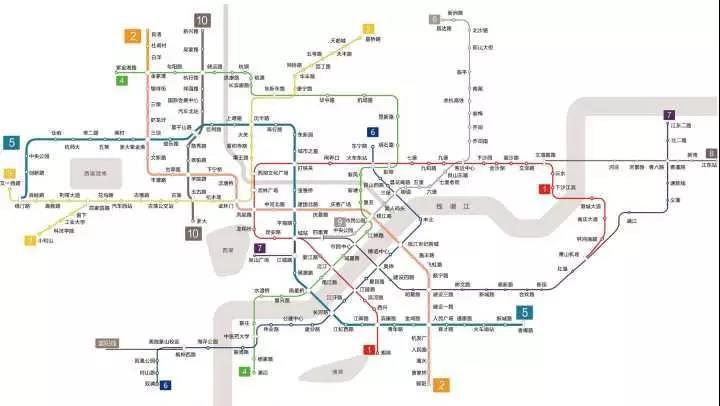 2018年,杭州地铁这9条线都要开工!图片