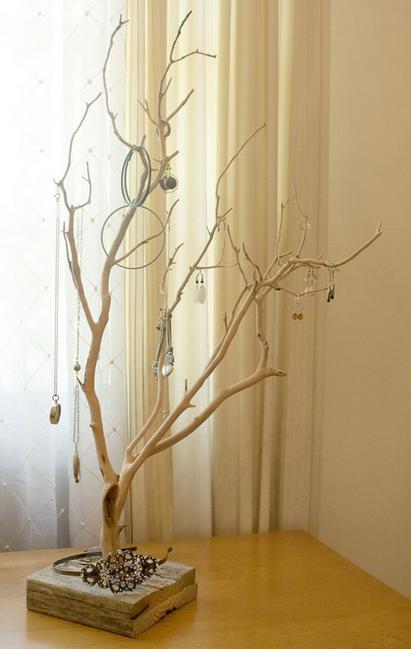 树枝DIY制作大全,枯木一样能逢春!