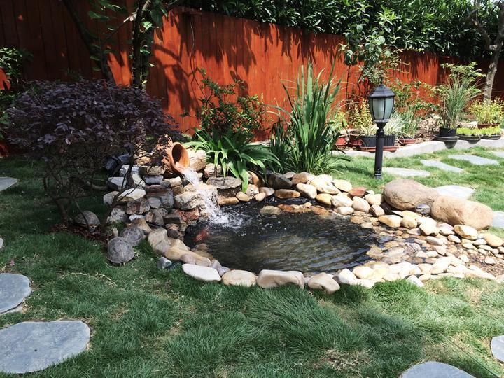 庭院建造池塘的造景过程【转自weibo:@马锐拉】插图(32)