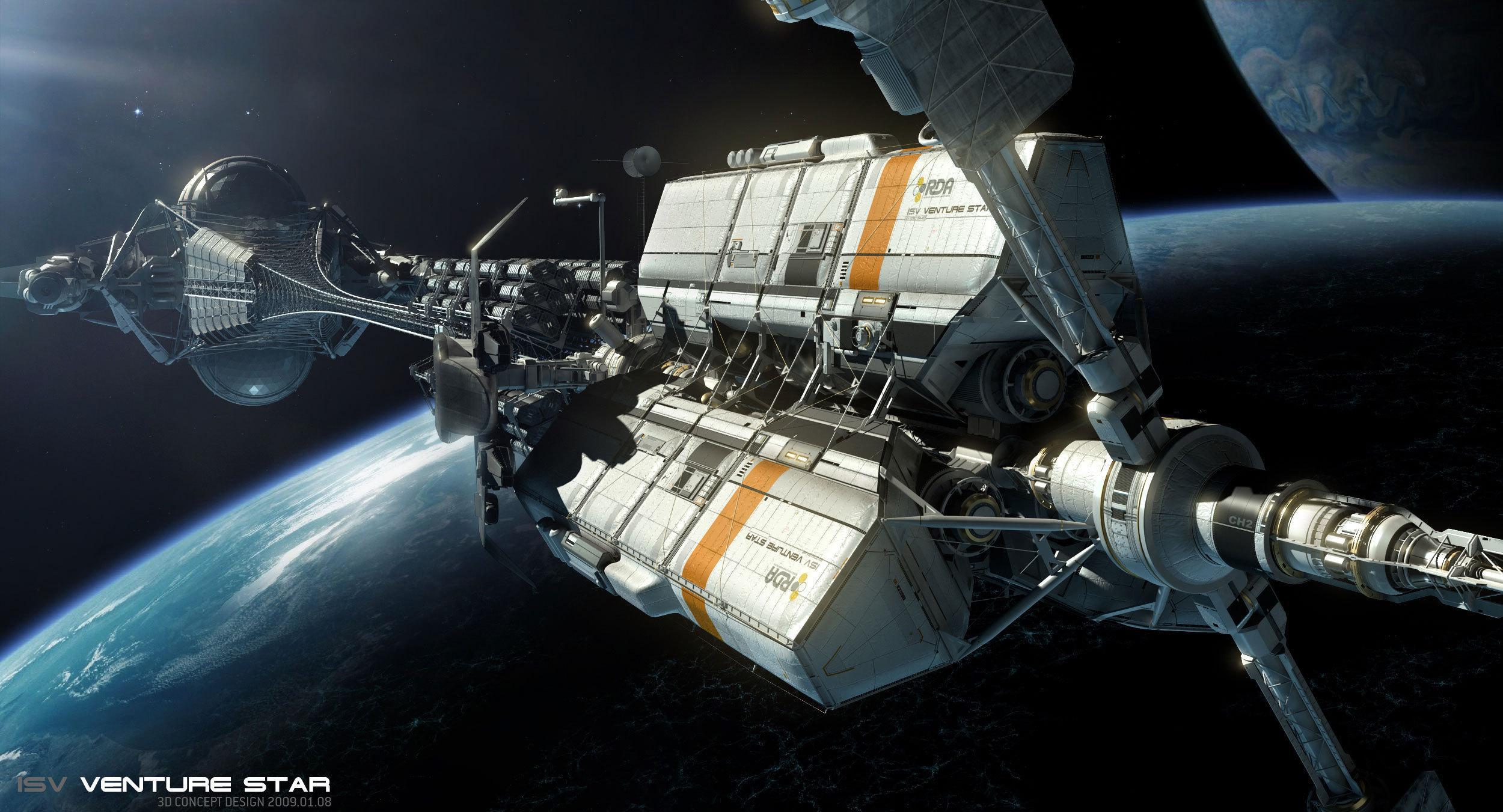 科幻作品中有哪些漂亮的太空飞船? - 知乎