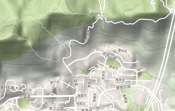 哪些地圖可以看海拔?