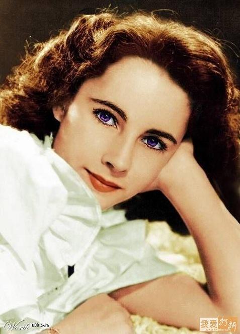 埃及艳后gif_伊丽莎白泰勒的眼睛真的是紫色的吗? - 知乎