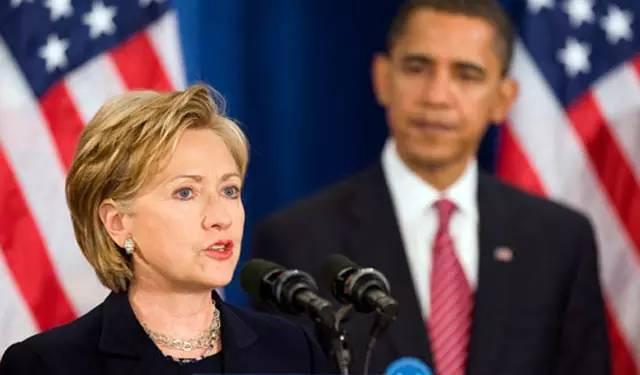 美国大选中奥巴马给希拉里埋的几个雷
